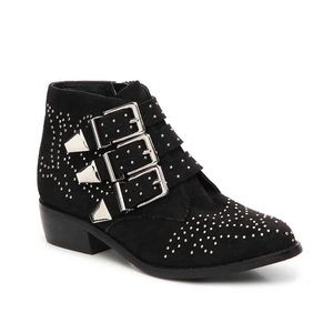NEW Diba Studded Buckled Booties